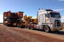 Hevi Haul Truck for Heavy Machinery